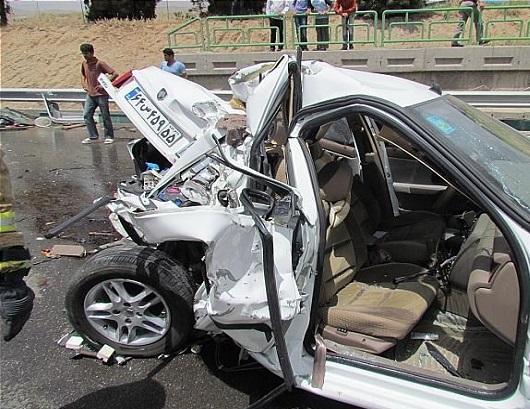 کاهش ۱۰ درصدی تلفات حوادث رانندگی درفروردین ماه سال جاری