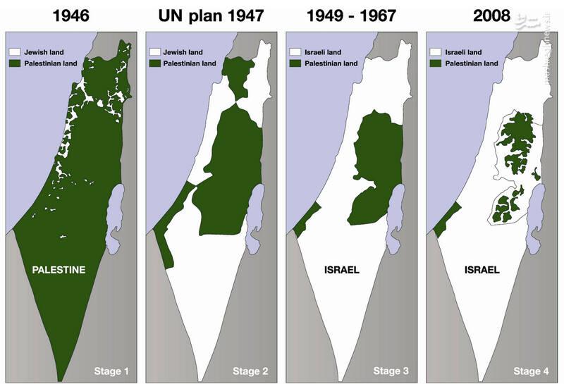 رژیم صهیونیستی از فلسطین به کدام نقطه دنیا فرار خواهد کرد؟ +تصاویر و فیلم