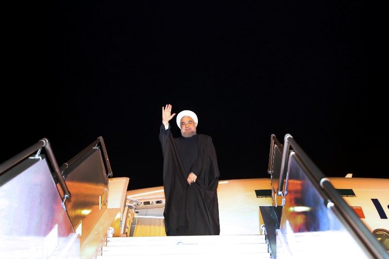 روحانی ماکو را به مقصد تهران ترک کرد