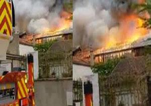 وقوع آتش سوزی در شهر ورسای فرانسه