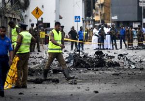 دیپلمات آمریکایی: آمریکا هیچ اطلاع قبلی از حملات سریلانکا نداشت/ افبیآی درباره انفجارهای کلمبو تحقیق میکند