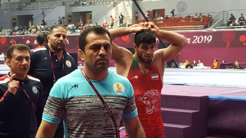 اهدای قهرمانی زودهنگام آزادکاران ایران در آسیا به سیل زدگان کشور
