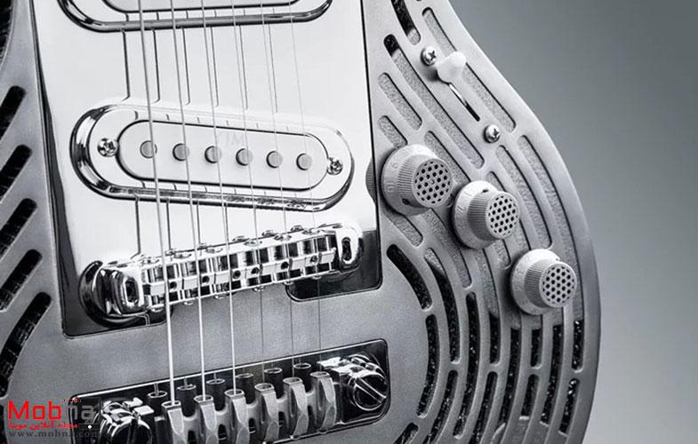خاصترین گیتار جهان را از نزدیک ببینید + تصاویر
