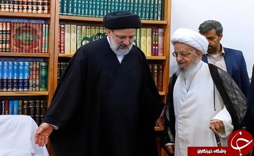 دیدار رئیس قوه قضاییه با مراجع عظام تقلید/روند اقدامات قوه قضاییه و برنامههای آینده نهاد قضا
