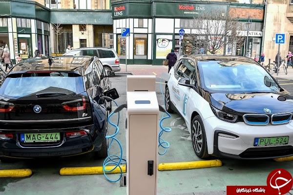 نمایش موقعیت دقیق ایستگاههای شارژ خودروهای الکتریکی روی نقشه