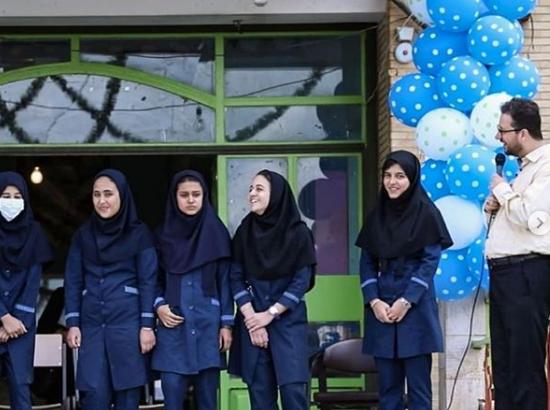 سورپرایز داور عصر جدید برای کودکان سیلزده در پایتخت قلبهای ایران + تصاویر