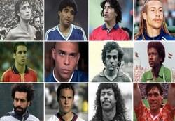 بهترین بازیکن فوتبال هر کشور را انتخاب کنید+ لینک نظرسنجی