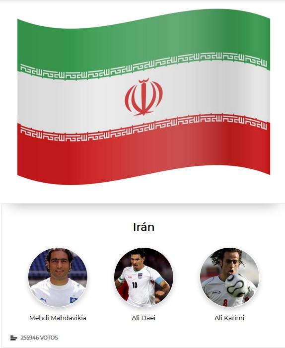 کریمی، دایی، مهدوی کیا نامزد کسب عنوان بهترین بازیکن تاریخ ایران از نگاه نشریه مارکا