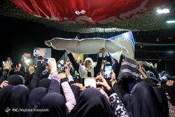 وداع با پیکر مطهر شهید مدافع حرم مجید قربانخانی