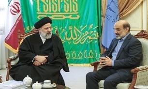 دیدار رئیس سازمان صداوسیما با رئیس قوه قضاییه