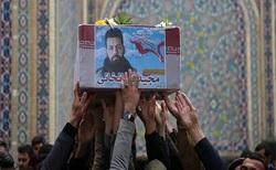 تشییع پیکر مطهر شهید مدافع حرم «مجید قربانخانی» در یافتآباد + فیلم