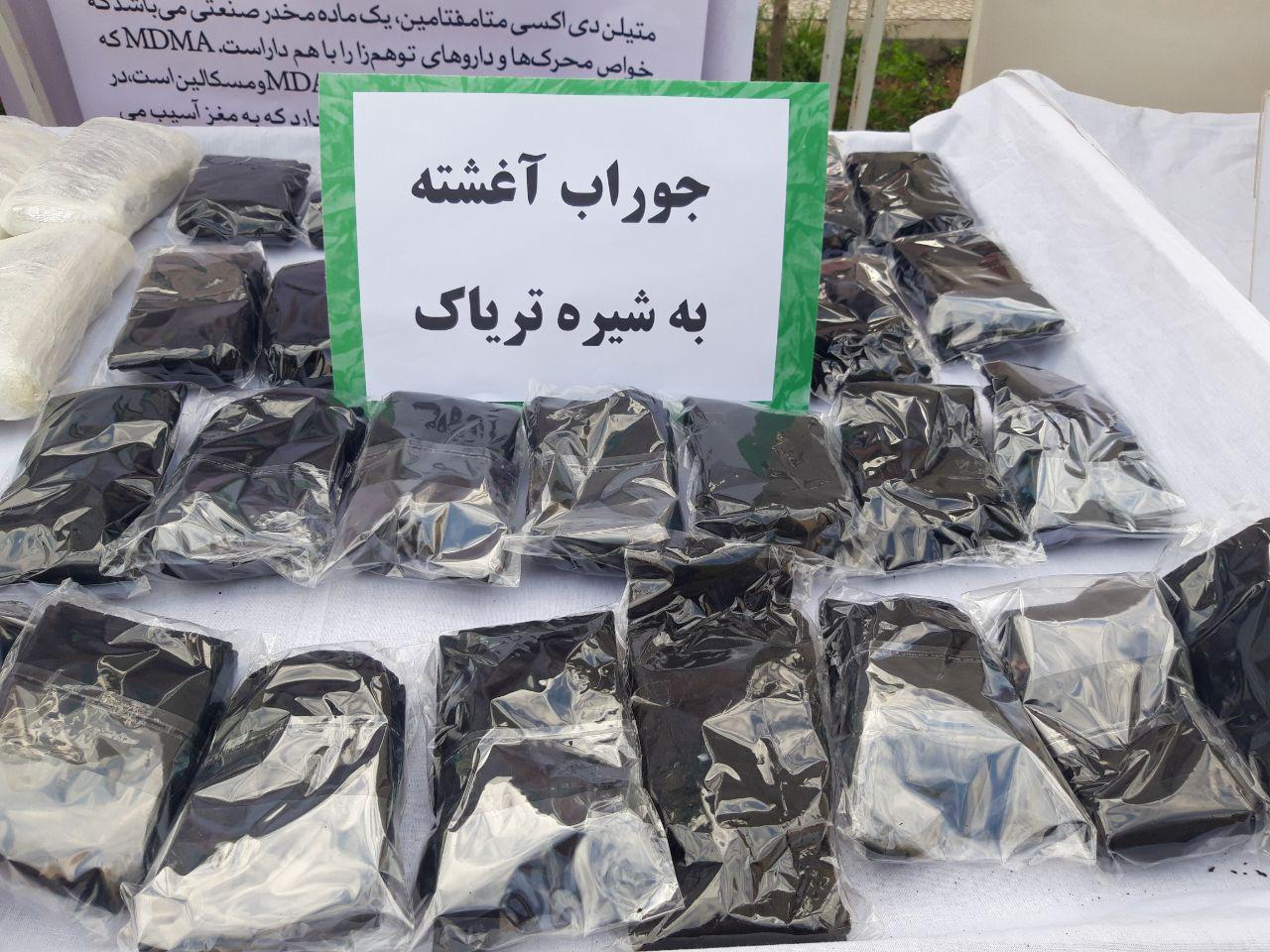 انهدام ۶ باند سازمان یافته و دستگیری ۷۱ قاچاقچی موادمخدر + عکس