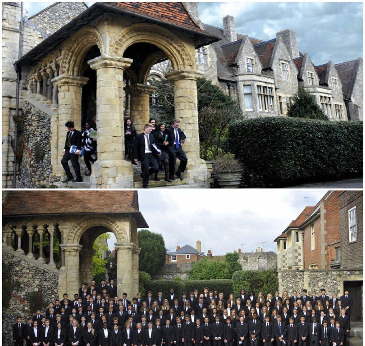 عجایب دانستنی در مورد قدیمی ترین مدرسه انگلستان+عکس///نمایه درست شود/////////