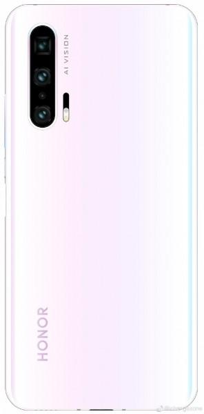 رندر گوشی Honor 20 Pro در رنگ سفید منتشر شد +عکس