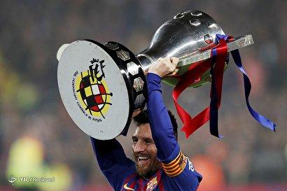 قهرمانی بارسلونا در لالیگای اسپانیا
