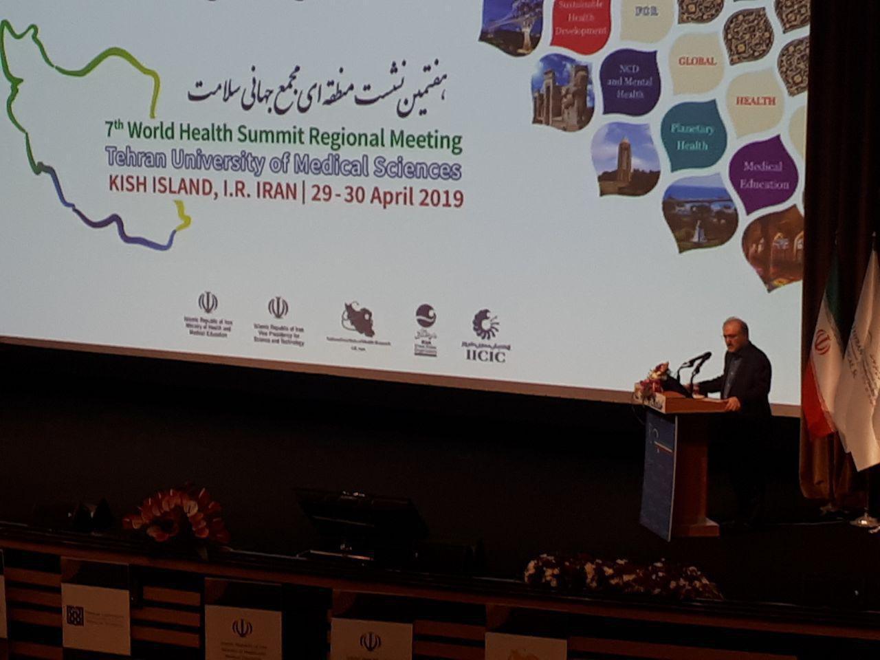 سلامت یک انتخاب سیاسی است/ جایگاه نخست ایران در منطقه در زمینه تحقیقات پزشکی/ هیچ فردی نباید به دلیل تحریم از خدمات سلامت محروم بماند