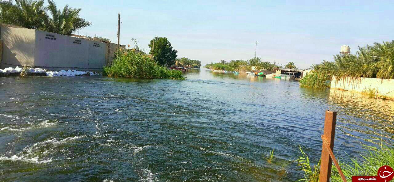 آخرین اخبار از مناطق سیل زده دوشنبه نهم اردیبهشت/کاهش ۱۰ درصدی آب در آق قلا/ آبادان را خطری تهدید نمیکند + عکس
