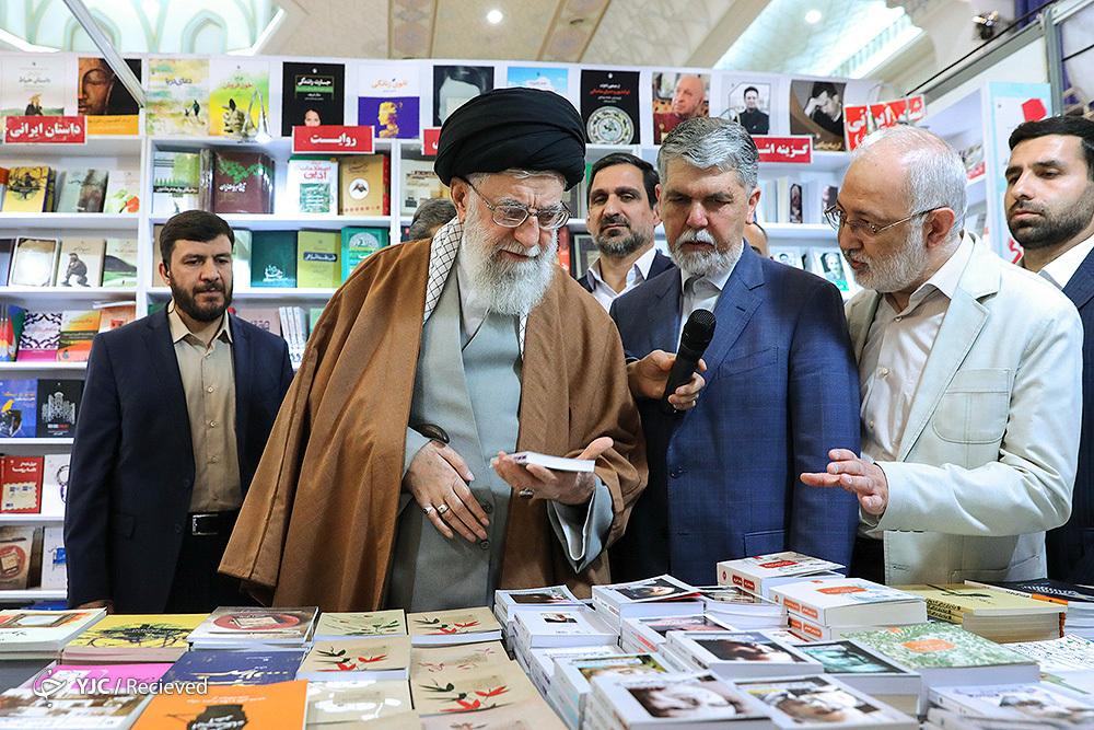 روایت سخنگوی نمایشگاه کتاب از حضور امروز رهبر انقلاب در این رویداد فرهنگی