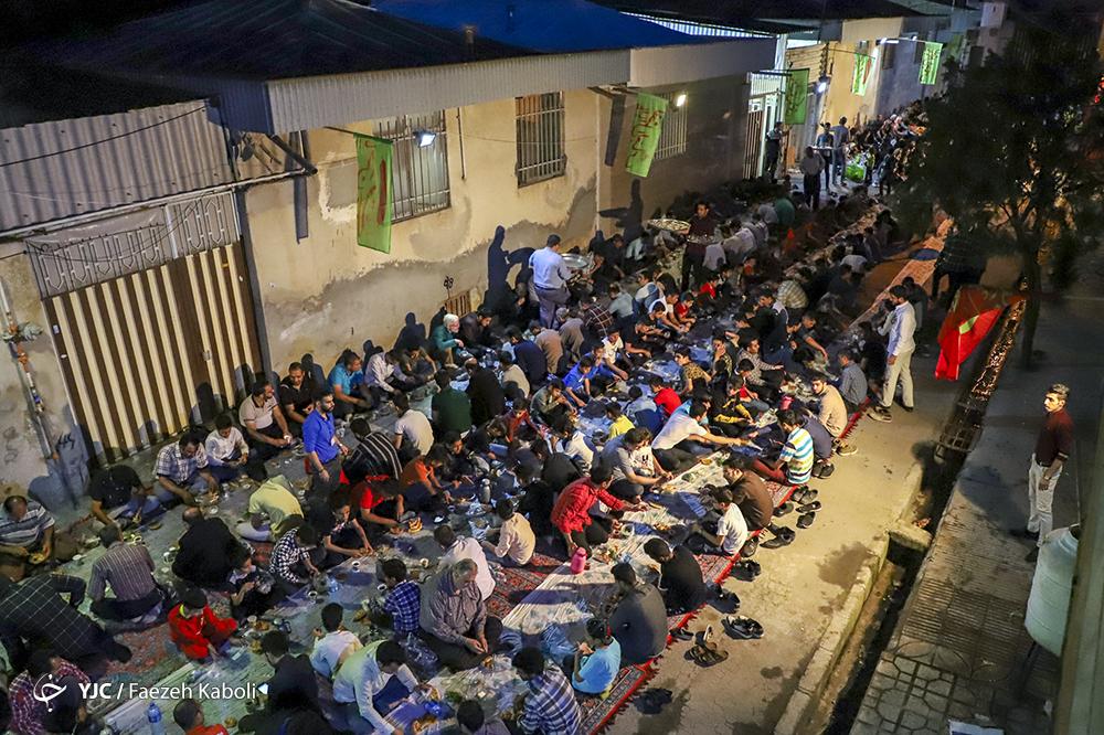 افطاری به مناسبت ولادت امام حسن (ع)