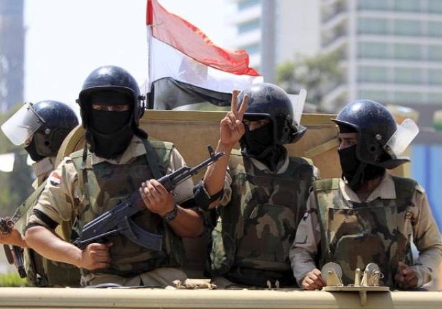 هلاکت ۱۶ تروریست در صحرای سینای مصر