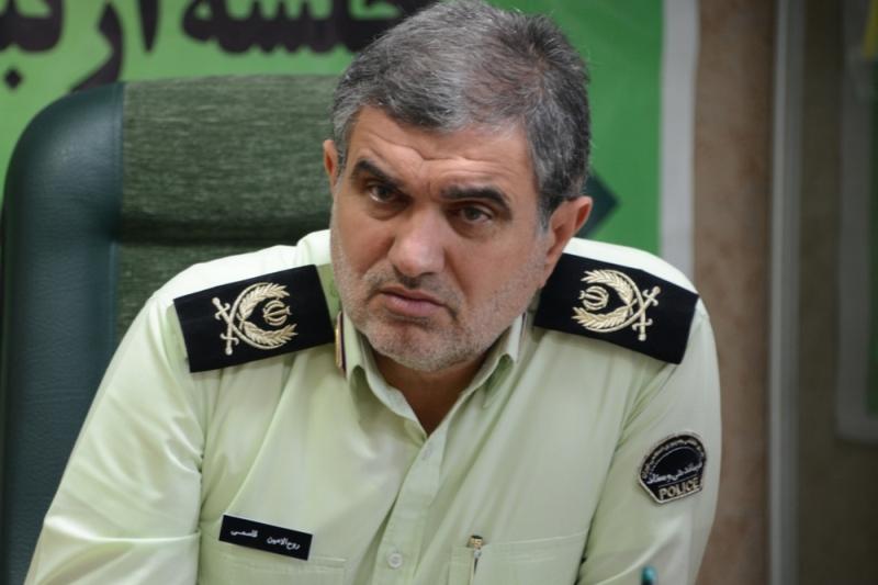 لباس سبز پلیس جامه افتخار خدمت به مردم است/وضعیت مطلوب امنیت در سمنان