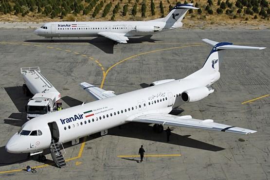 مراحل C چک هواپیمای فوکر ۱۰۰ به اتمام رسید/ صرفهجویی هزینههای ارزی بسیار زیاد برای خطوط هواپیمایی