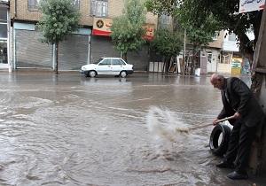 بارشهای بهاری در برخی نقاط استان یزد سیل راه انداخت