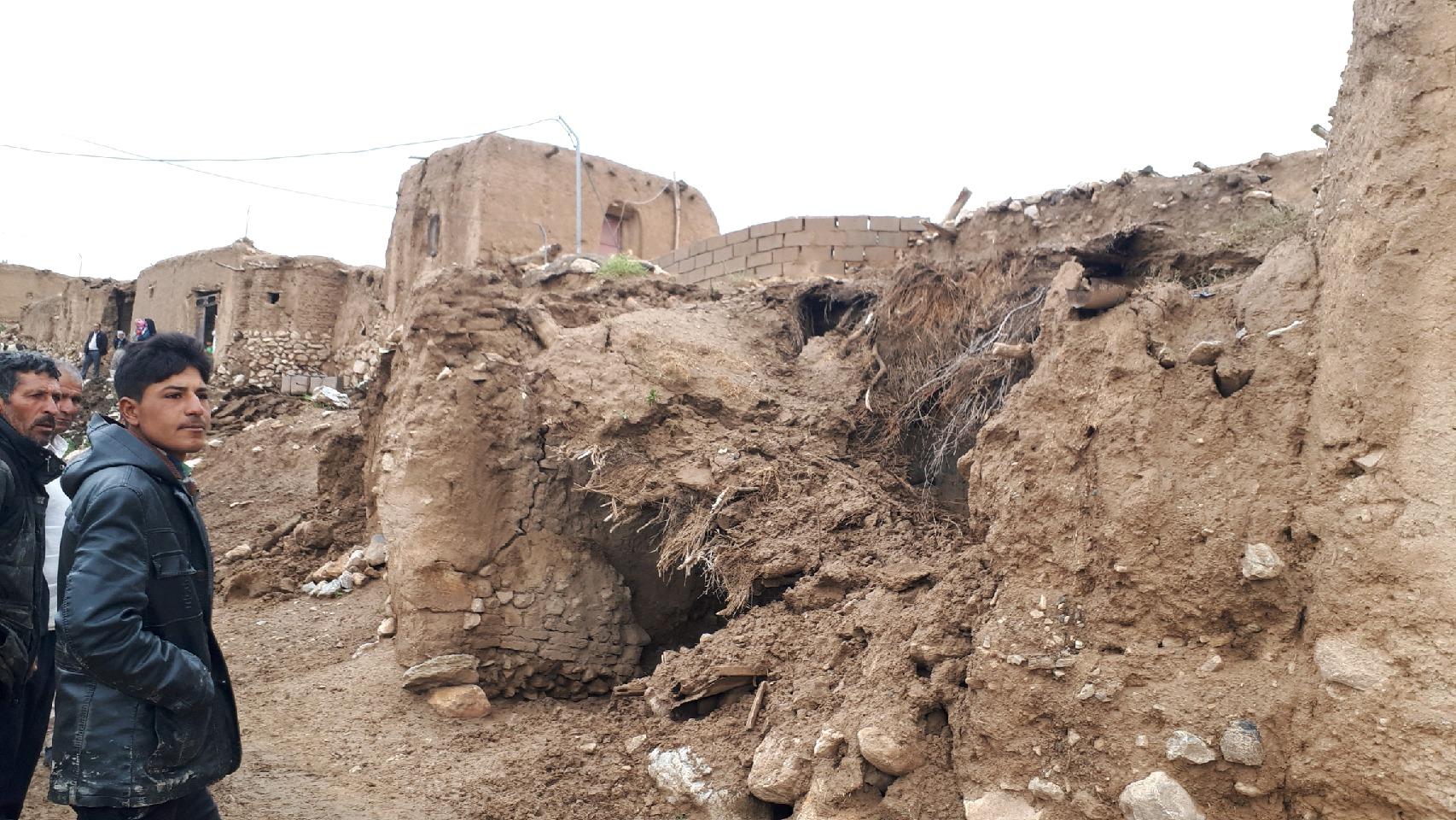 تخریب ۲ روستا در داورزن بر اثر وقوع سیل