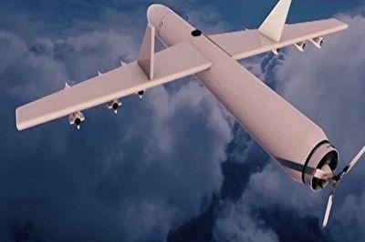 هدف قرار گرفتن آشیانه جنگندههای سعودی در فرودگان نجران با عملیات پهپاد قاصف ۲ K + فیلم