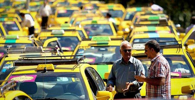 برخورد با تاکسیهای فاقد برچسب قیمت از روز شنبه