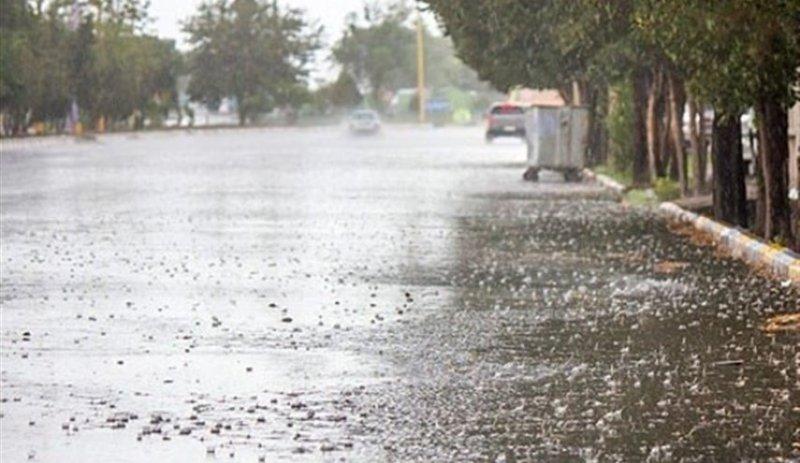 بارش باران بهاری در نقاط مختلف استان سمنان