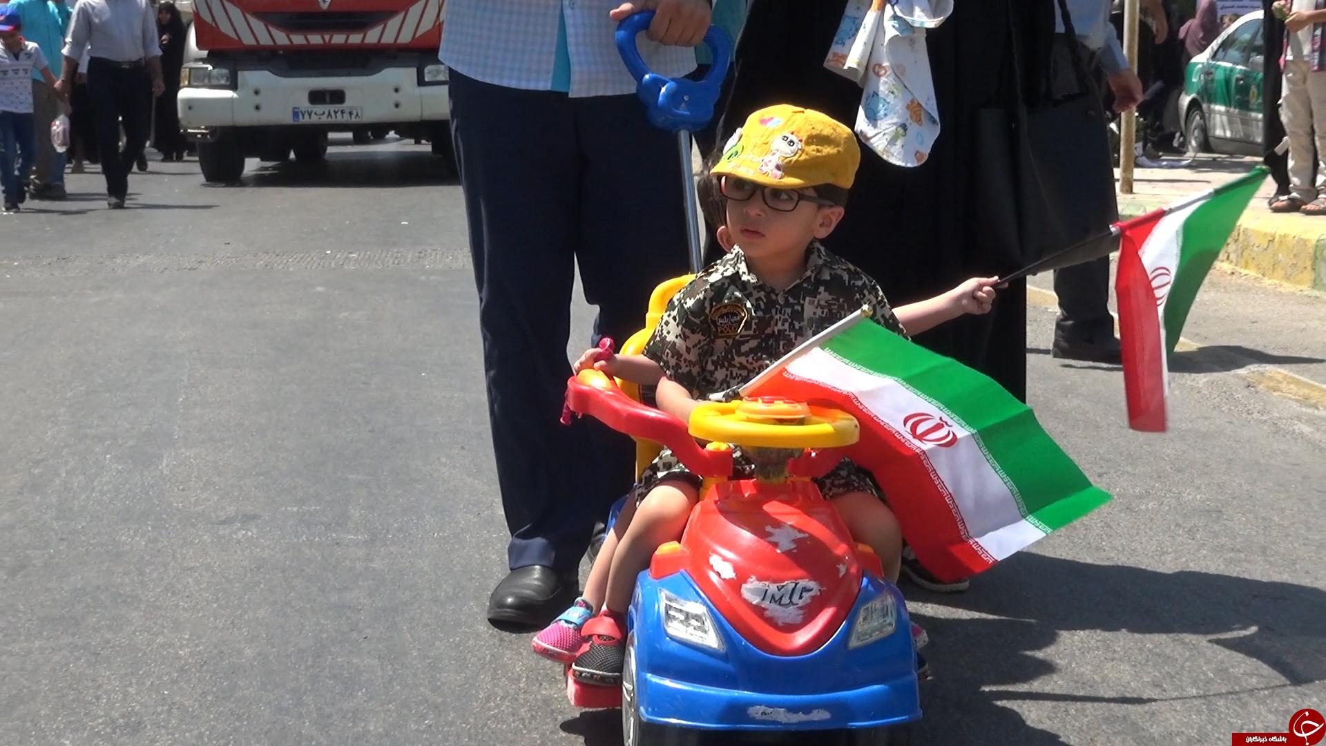 تصاویر حضور بوشهریها در راهپیمایی روز جهانی قدس