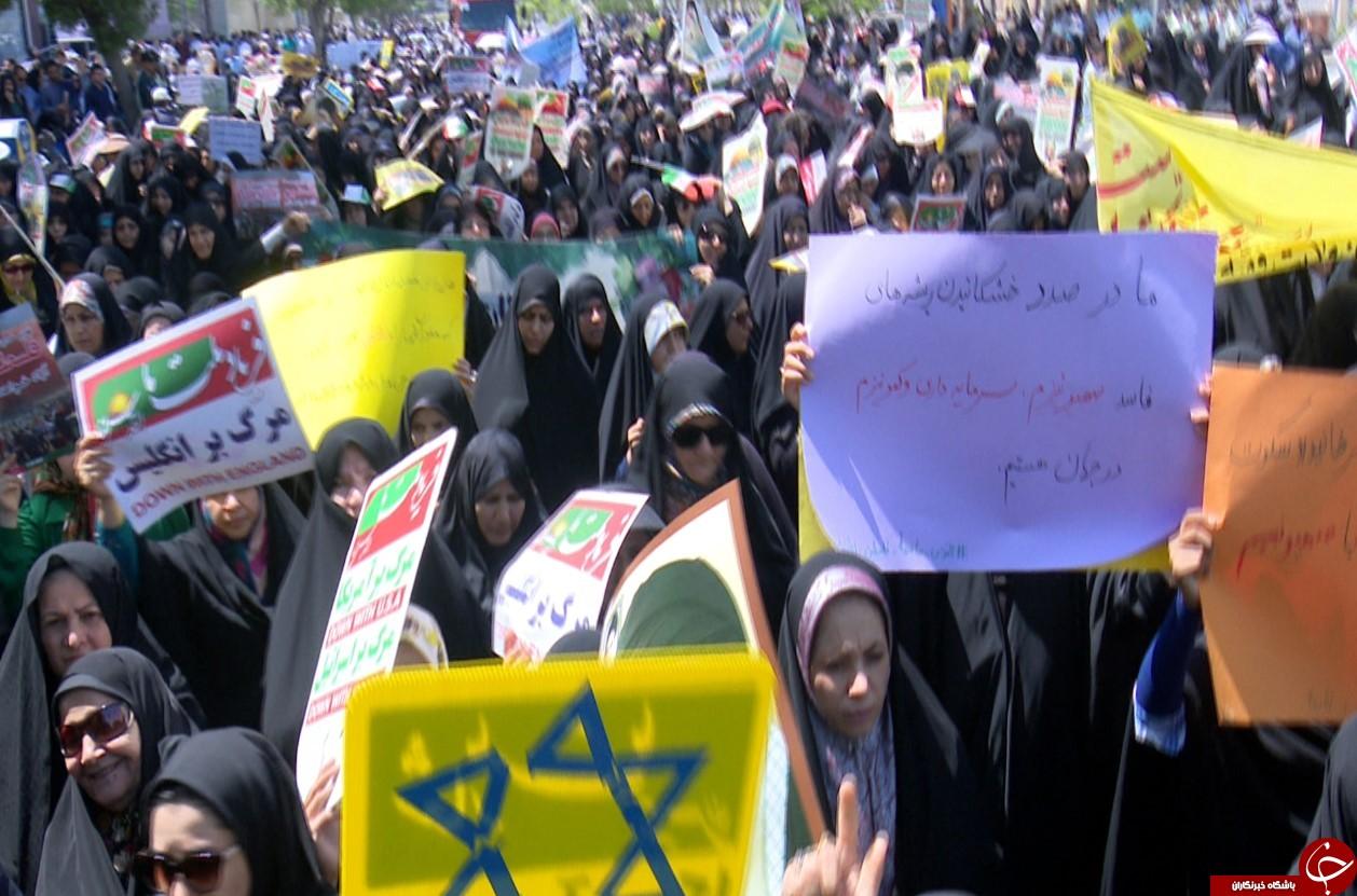 تصاویری از حضور ساحل نشینان بوشهری در راهپیمایی روز جهانی قدس