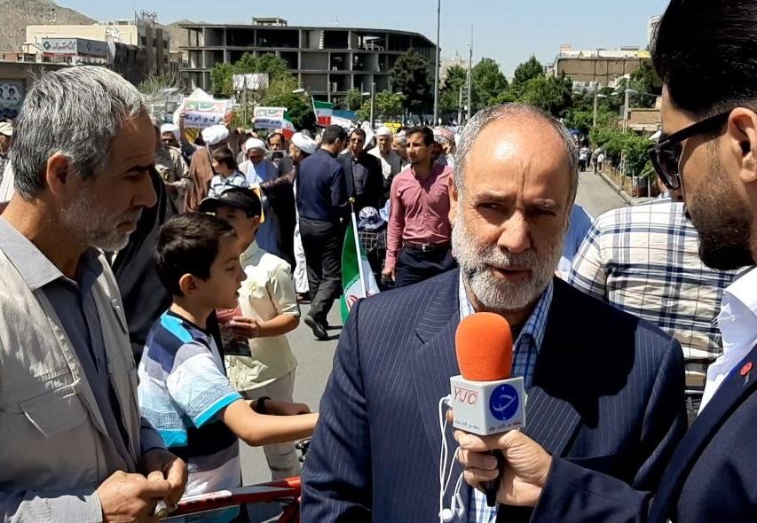 همه آمدند به فلسطینیها بگویند تنها نیستند