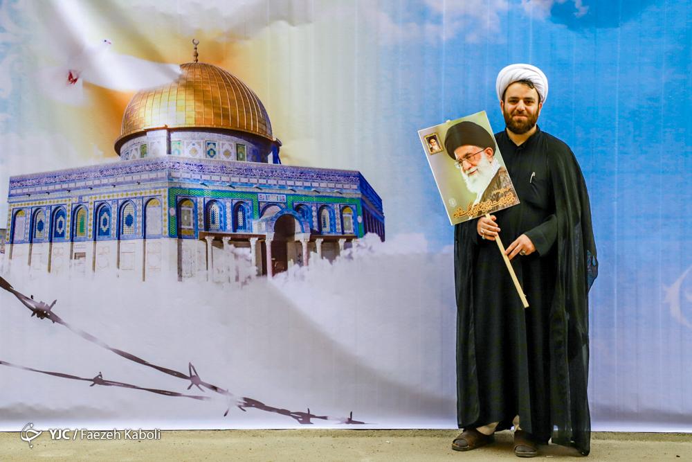 حجت الاسلام علی رهید، طلبه