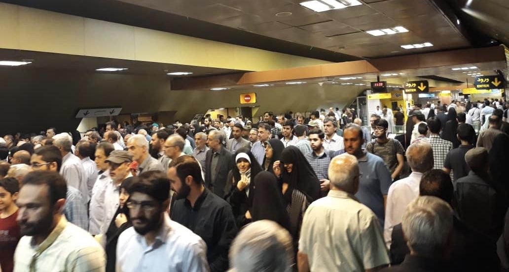 استفاده ۴۱ هزار نفر از متروی تهران در روز جهانی قدس