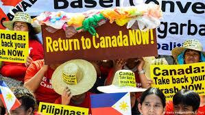 پایان مناقشه زباله میان کانادا و فیلیپین!