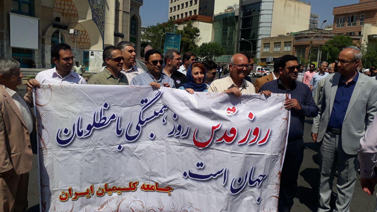 از حضور مسئولان و کلیمیان تا رونمایی از ماکت موشک ذوالفقار/ پیام انگلیسی ایرانیان به مردم جهان