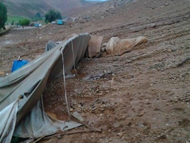 خسارت سیل و بارندگیها به راههای عشایری شیروان
