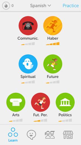 دانلود Duolingo: Learn Languages 4.16.2 - بهترین برنامه آموزش زبان برای اندروید