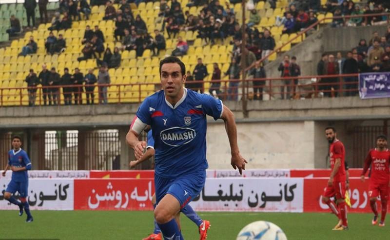 گفتگو با کاپیتان داماش گیلان در خصوص بازی فینال جام حذفی