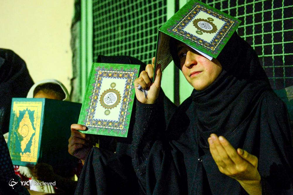 آخرین مناجات ابوحمزه ثمالی در مسجد ارک زمزمه شد/ مداحی پرسوز حسین سازور