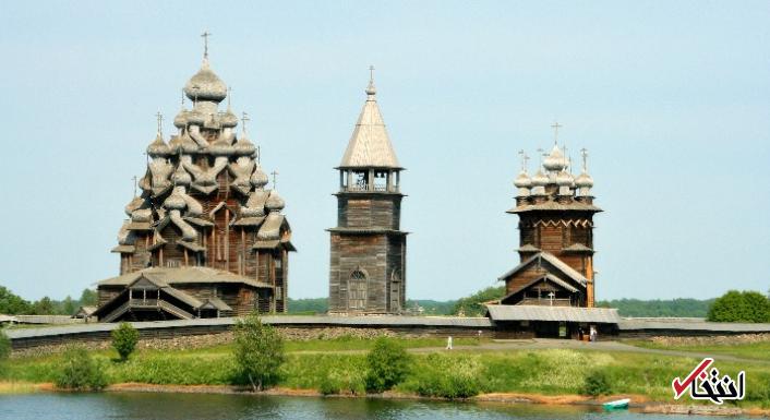 نگاهی به یکی از زیباترین بناهای تاریخی روسیه / ساخت کلیسایی باشکوه بدون حتی یک میخ