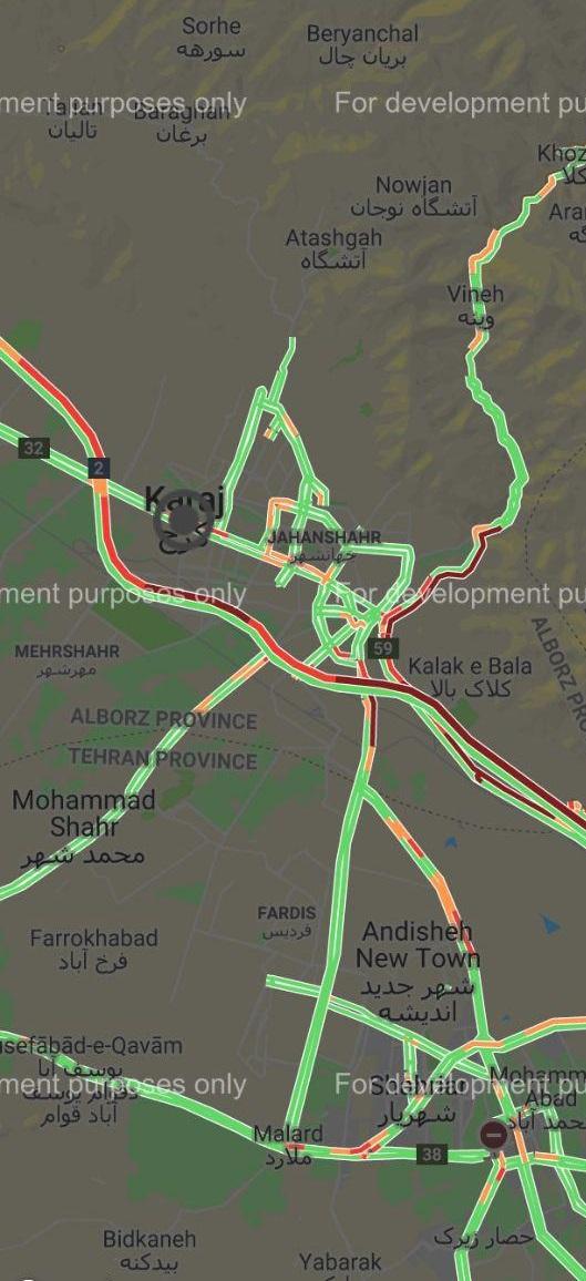 آخرین وضعیت جوی و ترافیکی جادههای کشور در سیزدهم خرداد ماه ۹۸