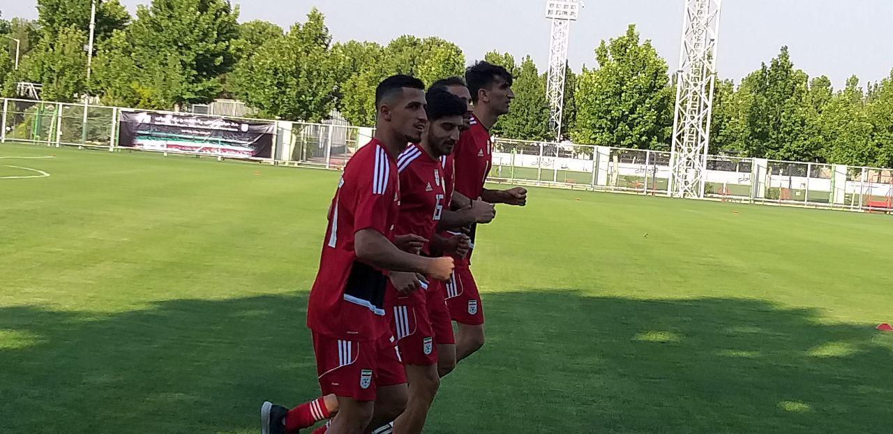 گزارش تمرین امروز تیم ملی فوتبال