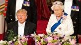 ادامه سوتیهای ترامپ در سفرش به انگلیس+فیلم