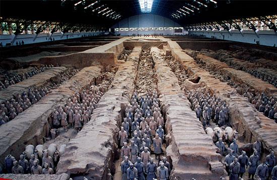 آرامگاه اولین امپراتور خاندان شین