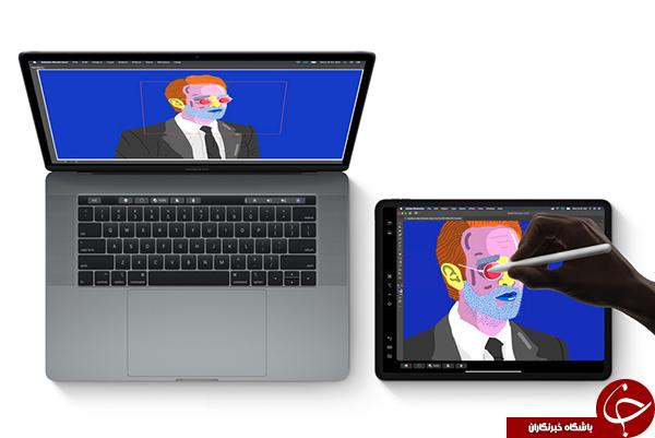 سیستم عامل مخصوص تبلتهای اپل معرفی شد +تصاویر