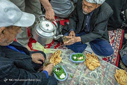 روزهای پایانی رمضان گلشهر