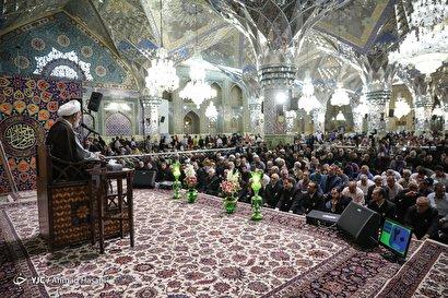 سالگرد ارتحال امام خمینی (ره) در حرم رضوی